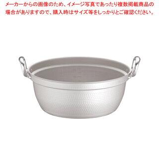 マイスターアルミ極厚円付鍋(目盛付)45cm【厨房館】