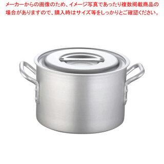 半寸胴鍋アルミニウム(アルマイト加工)(目盛付)TKG24cm【厨房館】