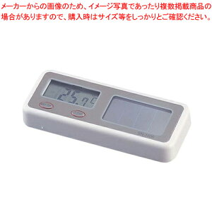 新ソーラーデジタル温度計 SN-1100 【ECJ】【室内用温度計】