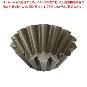 ゴーベル ブリオッシュ・14ウェーブ 223020 φ160mm【 ブリオッシュ 焼型 菓子パン型 ブリキ お菓子作り 】 【厨房館】