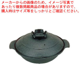 五進 鉄 寄せ鍋 (内面茶ホーロー仕上) 20cm【 料理宴会用 寄せ鍋 】 【厨房館】