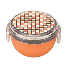 お弁当箱 パレット ランチボウル どんぶり型 オレンジ【厨房館】