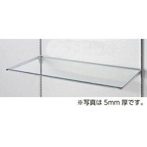 10R ガラス棚セットW90cm インハングタイプ ガラス8mm厚 D30cm 【 システム什器 システムオプション スリット式システムオプションW90cm 10R ガラス棚セットW90cm インハングタイプ ガラス8mm厚 】【