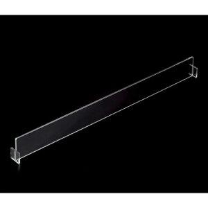 トレー棚用仕切板板 D40cm用 深型 【 システム什器 システムオプション 木棚 トレー棚用仕切板 】【厨房館】