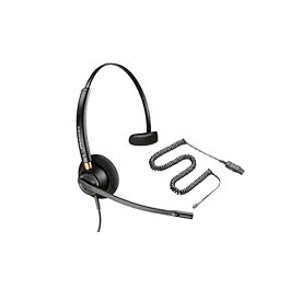 PLANTRONICS/プラントロニクス スープラプラス・ワイドバンド NC(片耳)+ケーブルセット HW510-A10-NE(HW510+A10-16セット)