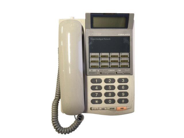 ★受話器・コードなし★中古ナカヨビジネスホン 12ボタン標準電話機 NYC-12Gi-TELSD※キーシートなし【中古】
