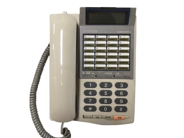 ★受話器・コードなし★中古ナカヨビジネスホン 24ボタン標準電話機 NYC-24Gi-TELPFI【中古】