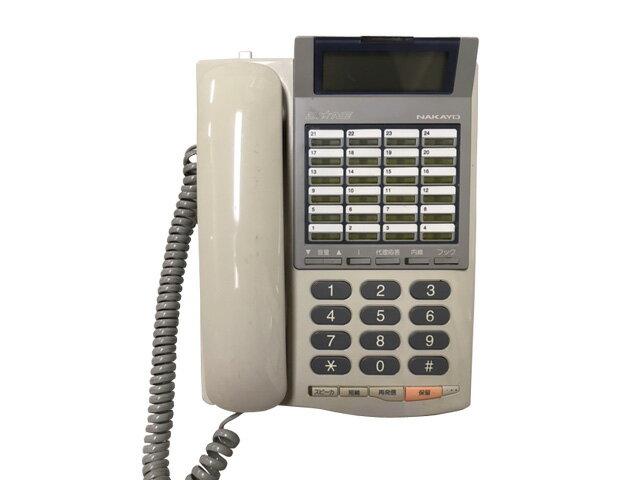 ★受話器・コードなし★中古ナカヨビジネスホン 24ボタン標準電話機 NYC-24Gi-TELSD【中古】