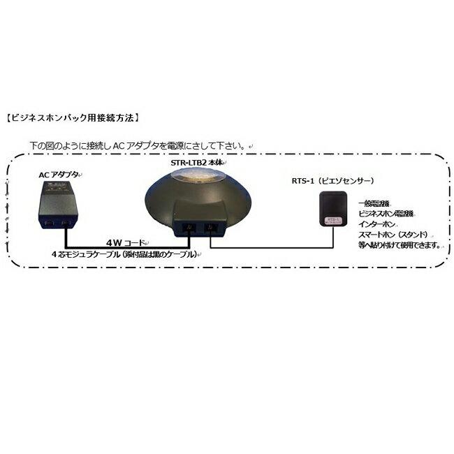 【送料無料】soft and hard/ソフトアンドハード ストロボリンガー STR-LTB2ビジネスホンパック(ストロボリンガー本体+RTS-1)