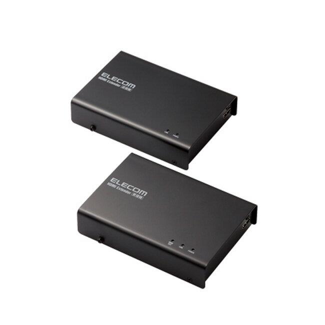 【送料無料】エレコム HDMIエクステンダー(セットモデル) VEX-HD1001S ※HDBaseT(R)認証済み HDMIエクステンダー