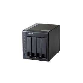 【送料無料・代引不可】ELECOM/エレコムLinuxNAS/4Bay/4TB/NetStor5シリーズ NSB-5A4T4BL