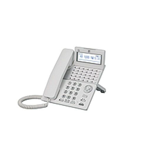 【送料無料】saxa/サクサ PLATIAII(プラティア2) 30ボタン電話機 TD820(W)※ホワイト