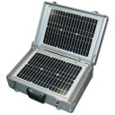 【送料無料・代引不可】レッツコーポレーション ソーラー式発電・蓄電装置 ソーラー蓄発くん Li-2 AL