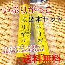 【送料無料】秋田県産大根使用 いぶりがっこ 一本 2袋セット パリッポリッとした歯ごたえにいぶりがっこの旨みと燻…
