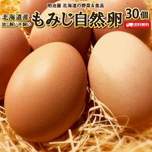 たまご 送料無料 自然卵 30個 北海道産 赤玉鶏 破損保証10個含む 常温発送 平飼い 放し飼い 送料込み 卵 玉子 タマゴ