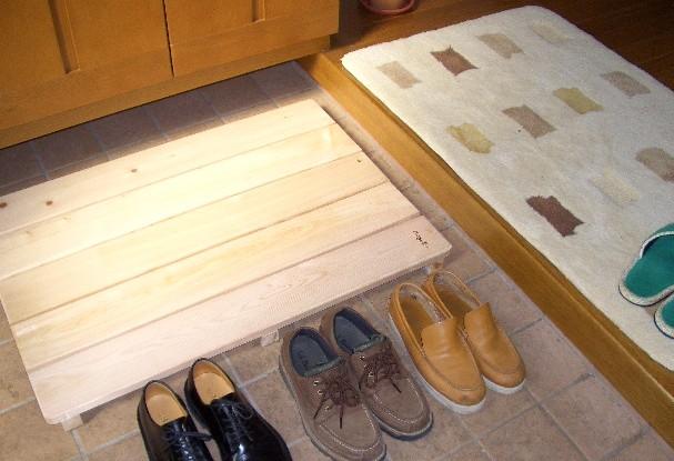 【国産品/国産ひのき】 極厚すのこ (5枚巾) ◆木工職人の手作り 安心商品◆