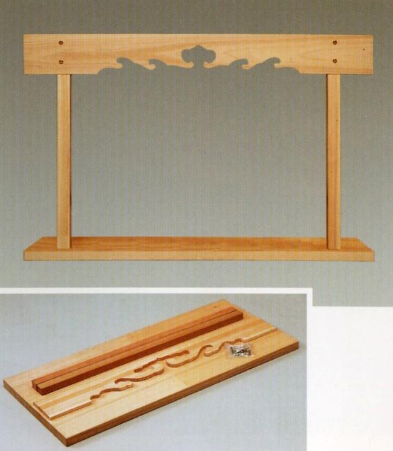 【国産品/天然木/送料無料】 神棚 棚板 セット ◆木工職人の手作り 安心商品◆ 新築 リフォーム 大工さん 工務店さまにも