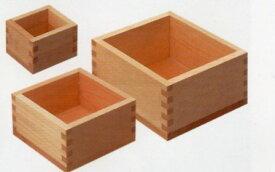 【国産品/国産ひのき】木製マス(1合サイズ) ◆木工職人の手作り 安心商品◆