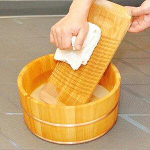 洗濯板(小サイズ・両面使用可能)木工職人の手作り◆ウォッシュボード せんたく 木製 日本製 ガンコ汚れ 手洗い ハンディ