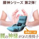 腰の神様がくれた座椅子 連動肘つき DMZK-アロー | 座椅子 一人用 腰痛 肘掛け リクライニング 肘付き プレゼント リ…