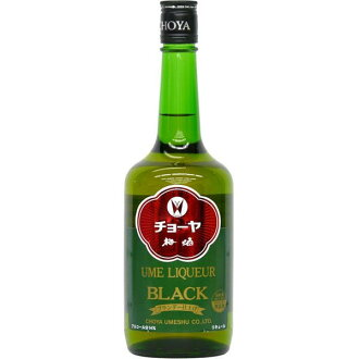 Choya umeshu black 720 ml choya umeshu co., Ltd.