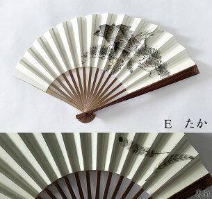 新江戸扇子グラデーション扇子手描き扇子とんぼ鈴虫茄子鷹男持ち猫扇子和柄