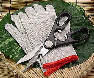 蟹むき身料理用はさみ・軍手セット限定 楽天 通販 価格 特価 販売 お土産