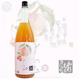 ≪果実酒≫ 子宝 山形もも・さくらんぼ 1800ml :こだから
