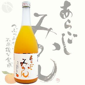 ≪果実酒≫ 梅乃宿 あらごしみかん 720ml :うめのやど