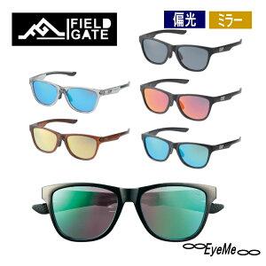 FIELD GATE偏光サングラス ミラーレンズ レンズカラー5色 5種類のおしゃれな人気の偏光サングラスソフトケース・クロス付きファッション用グラス