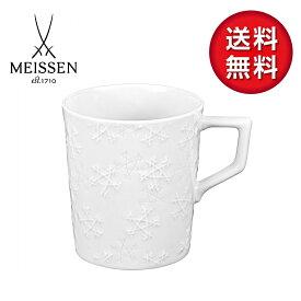 【日本総代理店/送料無料】マイセン 双剣の結晶 マグカップ