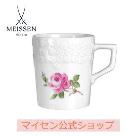 【日本総代理店/送料無料】マイセン マイセンのバラ マグカップ