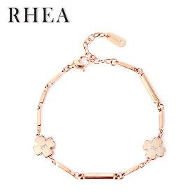 【RHEA】ブレスレット / アンクレット(ゴールドクローバー / レディース)
