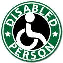 【マグネット】車椅子マーク マグネット ステッカー(グリーン)/障害者 身障者マーク 車いす 車イス ゆっくり走りま…