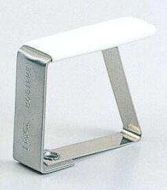 テーブルクロス クロス カバー 小物 デスクマット マット すべりどめ 滑り止め ずれ防止 テーブルクロス止め Sサイズ (ステンレス) 4個入り