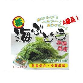 海ぶどう 送料無料 沖縄 久米島産海ぶどう(100g)×2個セット 海洋深層水 で有名な久米島産海ぶどう100% お土産 おすすめ