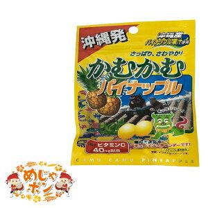パイン 沖縄限定 お土産 パイナップル グミ おすすめ 送料無料 かむかむ沖縄パイナップル30g×1袋 オキコ
