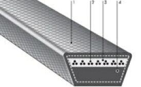 バンドー化学 農機用VベルトレッドSII SC-125