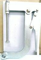 角田興業株式会社 No.158小 ハンドバイスプライヤー 回転式クランプ
