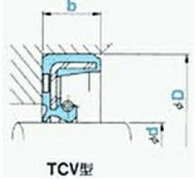 NOK オイルシール TCV17358 (AP0760E0) TCV型