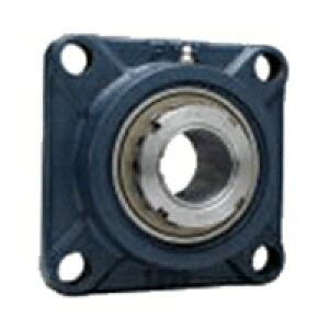 FYH 日本ピローブロック UKFX08D 角フランジ形ユニット テーパ穴・鋼板カバー付き(一端密閉形)