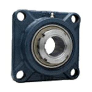 FYH 日本ピローブロック UKF306D 角フランジ形ユニット テーパ穴・鋼板カバー付き(一端密閉形)