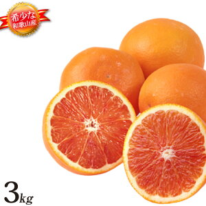 ブラッドオレンジ 和歌山 産地直送 3kg オレンジ 柑橘系 箱買い みかんの国 和歌山県産 ブラッドオレンジ3kg 国産 フルーツ 甘い 美味しい おいしい 果物 送料無料 送料込み