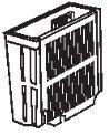 象印部品:箸立て/718550-05 食器乾燥機用〔45g〕〔メール便対応可〕