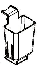象印部品:コードバスケット/BM272043L-02布団乾燥機用〔80g〕〔メール便対応可〕