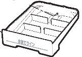 象印部品:水受け/BM294006L-01 食器乾燥機用〔110g〕〔メール便対応可〕