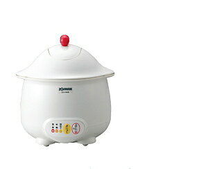 象印:温泉たまご器EG-HA型エッグDoDoDo/EG-HA06-WBホワイト