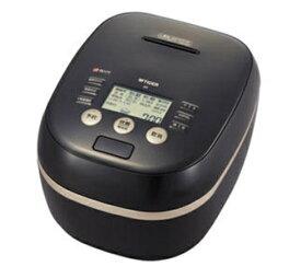 【延長保証券別途購入可能商品】タイガー:土鍋圧力IHジャー炊飯器<炊きたて>(5.5合炊)(ブラック)/JPH-G100-K
