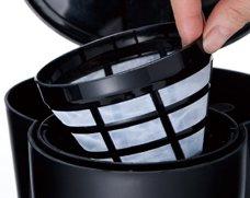 大石アンドアソシエイツ部品:パーマネントフィルター;p873/7610JP ラッセルホブス・5カップコーヒーメーカー用〔35g〕〔メール便対応可〕