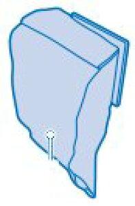 ツインバード部品:縦型用消臭・防菌2層紙パック(5枚入り)(TC-KP01)/51001 スティッククリーナー用